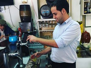 cerveza más fría de Sevilla