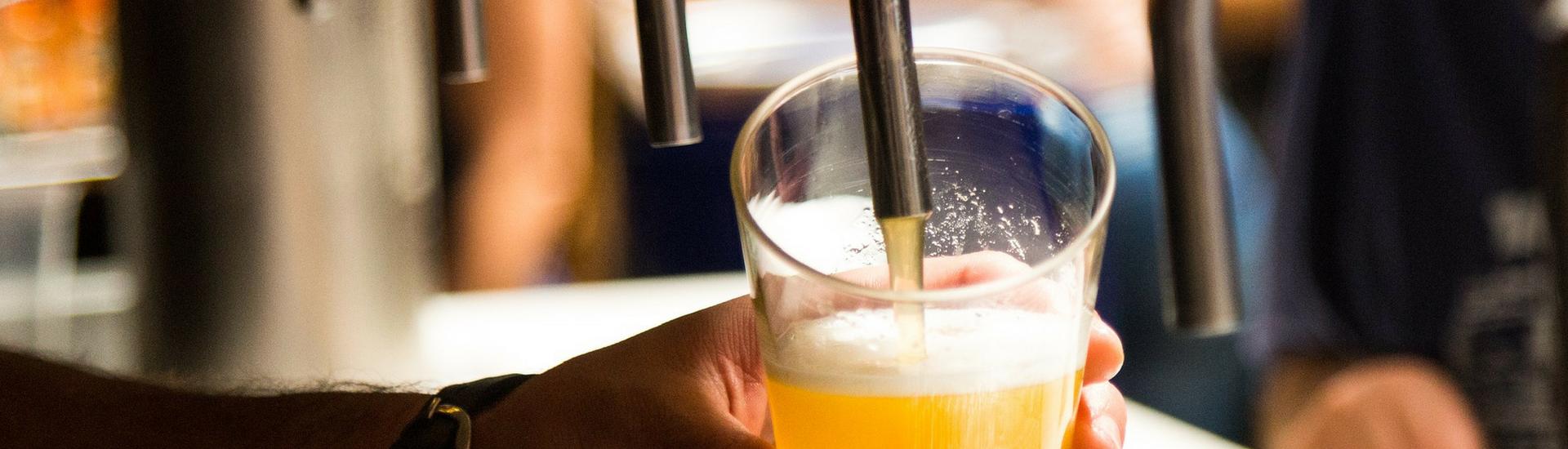 cerveza fría en Sevilla